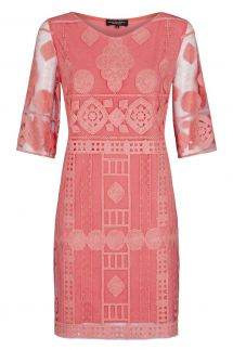 Ana Alcazar Tunic Dress Rose Falicities