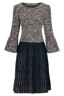 Ana Alcazar Dress Plissee Kyrila