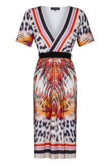 Ana Alcazar Short Sleeve Dress Fellipis