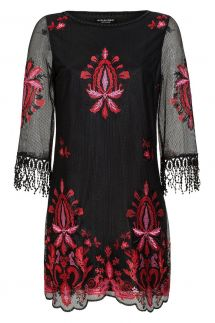 Ana Alcazar Lace Tunic Dress Laena
