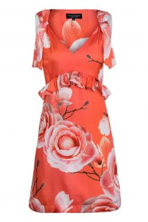 Ana Alcazar Limited Edition ruffles dress Malibe
