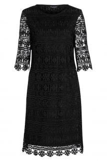 Ana Alcazar A-Shaped Dress Saide Black