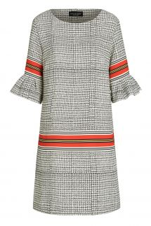 Ana Alcazar Shortsleeve Dress Sebrosa