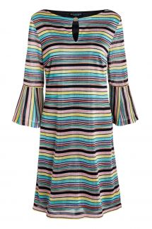 Ana Alcazar Stripe Dress Skaly
