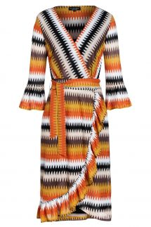 Ana Alcazar Wrap Dress Tunosa