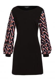 Ana Alcazar Pullover Dress Vabustis Brown