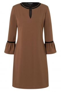 Ana Alcazar A-Shaped Dress Vafemis Brown