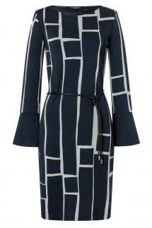 Ana Alcazar Cuff Dress Vimtyne Blue
