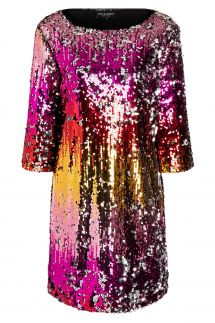 Ana Alcazar Sequin Dress Wanuka