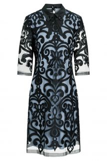 Ana Alcazar Collar Dress Warine Blue