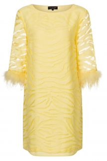 Ana Alcazar Tunic Dress Zapis Yellow