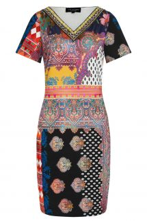 Ana Alcazar Short Sleeve Dress Zioly