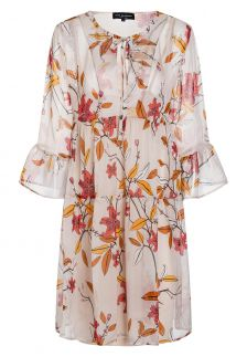 Ana Alcazar Silk Boho Dress Almsi