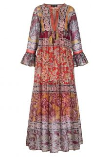 Ana Alcazar Maxi Boho Dress Apmel