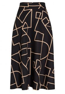 Graphic Skirt Bagsi