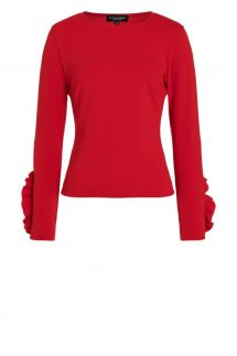Ana Alcazar Sweater Paxia Red