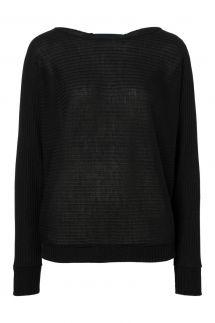 Ana Alcazar Bat Shirt Perera Black