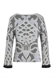 Ana Alcazar Long Sleeve Top Vedemy