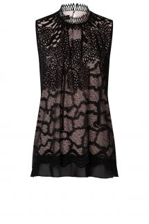 Ana Alcazar Lace Top Zaza
