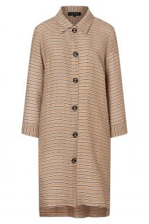 Ana Alcazar Blouse Dress Zemte Light-Beige