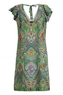 Ana Alcazar Volant Dress Moana