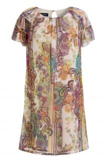 Ana Alcazar Silk Dress Madalyra