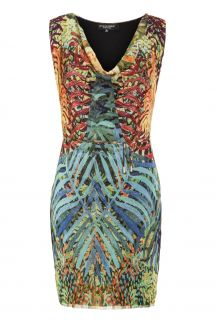 Ana Alcazar Print Dress Moleary