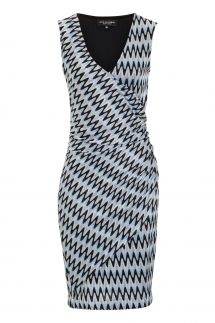AnaAlcazar Wrap Dress Mailaris