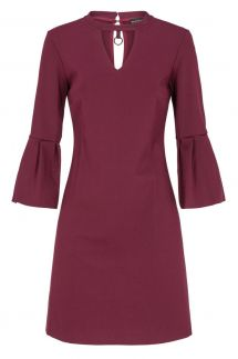 Ana Alcazar Volant Dress Deauby