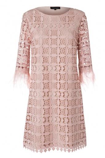Ana Alcazar Feather Dress Neava