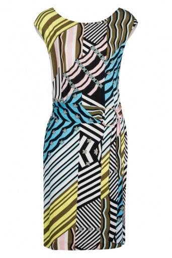 Ana Alcazar Patchwork Dress Niowa