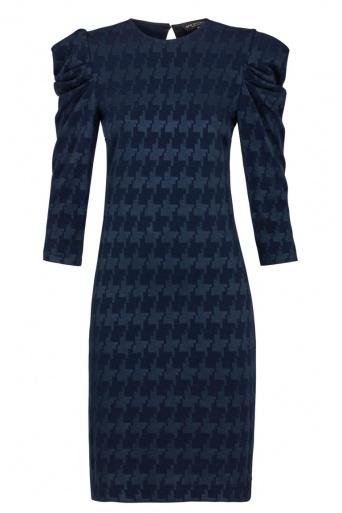 Ana Alcazar Shift Dress Kyrsta Blue