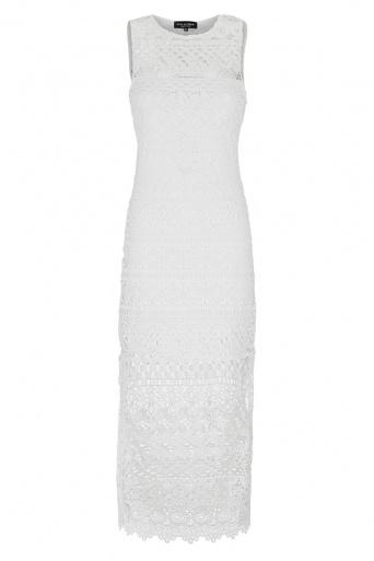 Ana Alcazar Midi Lace Dress Gwynes