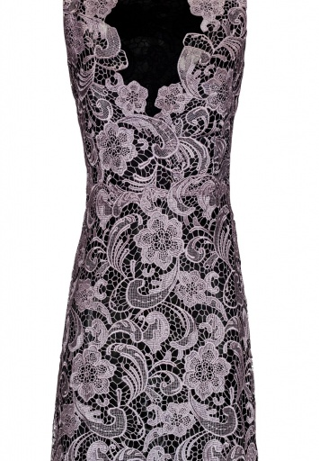 ana alcazar Black Label Maxi Lace Dress No. 64