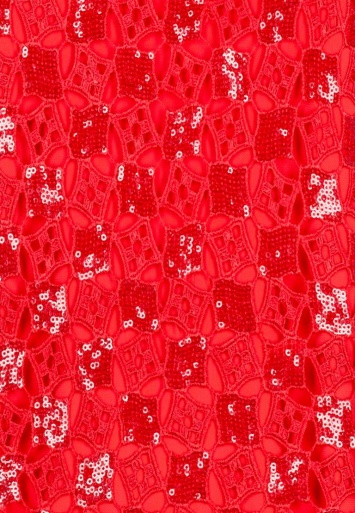 Ana Alcazar Black Label Tunikakleid Red-Lace