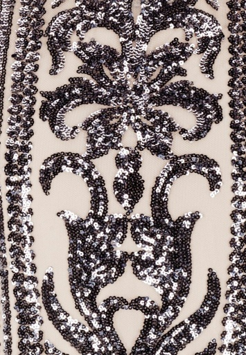 Ana Alcazar Black Label Sequin Dress No. 83