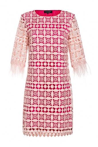 Ana Alcazar Feather Dress Neavaty