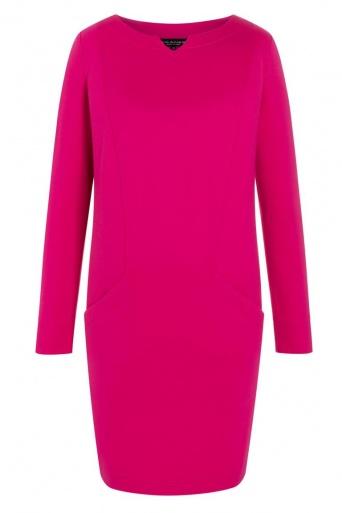 Ana Alcazar Pocket Dress Ozory Pink