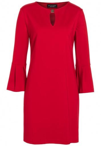 Ana Alcazar Volantsleeve Dress Rasyea Red