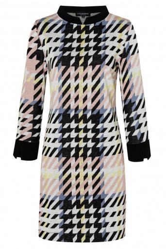 Ana Alcazar Sixties Dress Velmoroy Grey