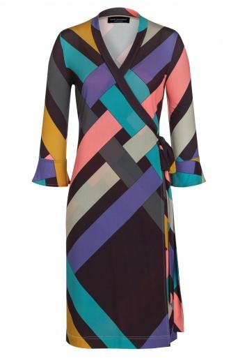 Ana Alcazar Wrap Dress Zimli