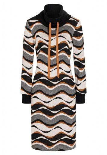 Turtleneck Dress Befli