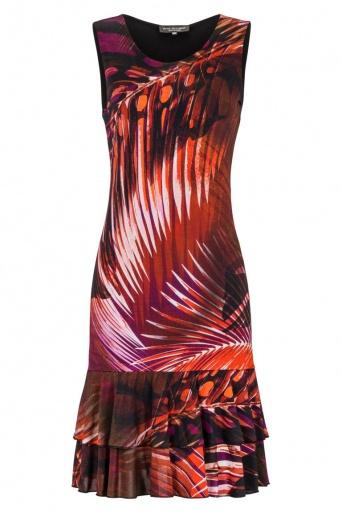 Ana Alcazar Volant Dress Gannary