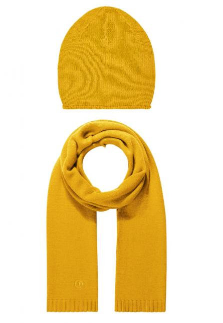 Set Beanie and Scarf Honey