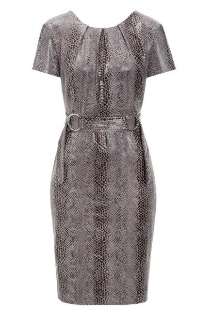Ana Alcazar Shift Dress Kora Grey