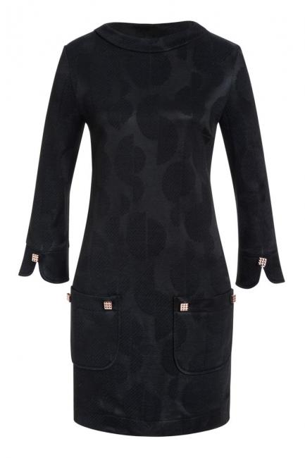Ana Alcazar Tunic Dress Kamyl Black