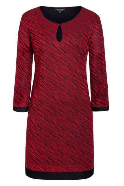 Ana Alcazar Tunic Dress Kimela Red