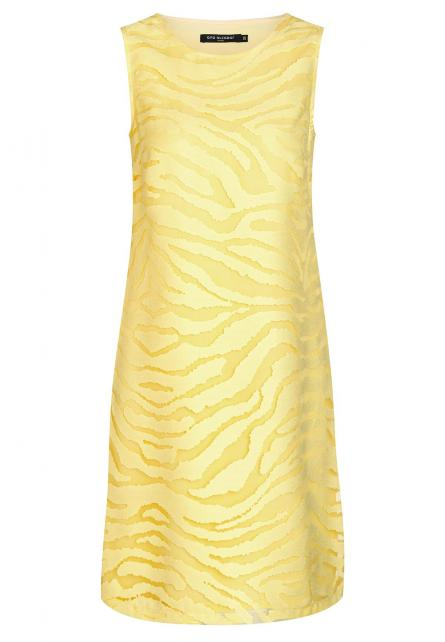 Ana Alcazar A-Shaped Dress Zapea Yellow