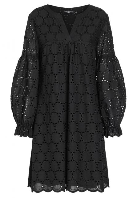 Ana Alcazar Boho Dress Zeka Black
