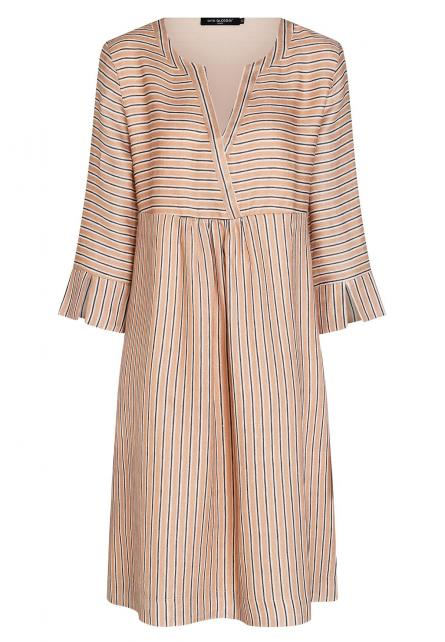 Ana Alcazar Smock Dress Zemai Light-Beige